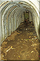 SH3333 : North Wales WWII defences: RAF Penrhos - air raid shelter (6) by Mike Searle