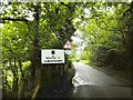 SJ2534 : Selattyn, welcome sign by Mike Faherty