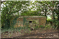 SJ7369 : WWII Cheshire, RAF Cranage, near Middlewich - pillbox (6) by Mike Searle