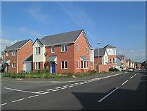 SJ9344 : Main Street, Weston Coyney by David Weston