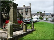 SK1971 : West end of the village green, Great Longstone by Christine Johnstone