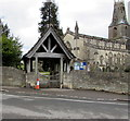 SO8700 : Holy Trinity Church lychgate, Minchinhampton by Jaggery