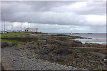 C8541 : Portrush shore and lifeboat station by Robert Eva