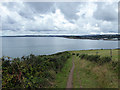 SX0852 : On the South West coastal Path by John Lucas