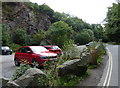 SJ6309 : Car park at Lawrence's Hill near the Wrekin by Mat Fascione