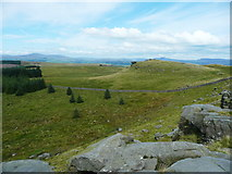 SD7659 : View from Whelp Stone Crag, Rathmell by Humphrey Bolton