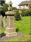 SK4641 : The grave of Samuel Taylor, Stanton Road, Cemetery, Ilkeston by Alan Murray-Rust