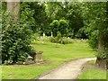 SK4641 : The old churchyard, Ilkeston by Alan Murray-Rust