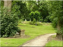 SK4641 : The old churchyard, Ilkeston by Alan Murray-Rust
