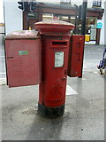 TL4196 : George VI postbox on High Street, March by JThomas