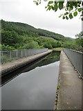 SN8001 : Ynysbwllog Aqueduct by David Tyers
