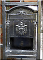 NS4863 : Letter box on Browns Lane by Thomas Nugent