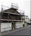 SS5147 : Masonic Temple under scaffolding, Ilfracombe by Jaggery