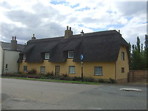 TL4568 : Thatched cottage, Cottenham by JThomas