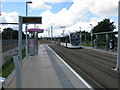NT2172 : Balgreen Tram Stop on the Edinburgh Tram Route by G Laird