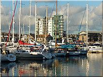 SX4854 : Sutton Harbour by Stephen McKay
