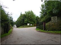 SS9709 : Entrance to Butterleigh Sawmill by David Smith