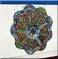 SJ0683 : Barkby Avenue public toilets mural, Prestatyn by Jaggery