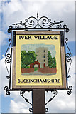 TQ0381 : Iver - village sign by Stephen McKay