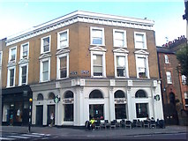 TQ2784 : Starbucks Coffee cafe on Primrose Hill by David Anstiss