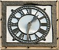 NT0805 : Old Courthouse clock by Gerald England