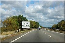 SK8838 : A1 northbound by Robin Webster