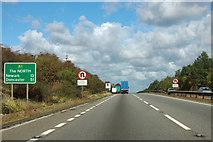 SK8836 : A1 northbound by Robin Webster