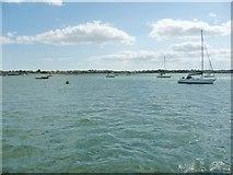 TM2532 : 'Small craft moorings', Bathside Bay, Harwich by Christine Johnstone