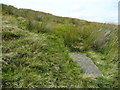 SE0805 : Path junction on the way up to the Pennine Way by Humphrey Bolton