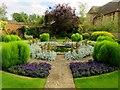 SP5105 : The Rose Garden in Christ Church by Steve Daniels