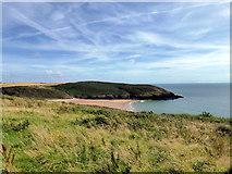 SS0597 : Manorbier Bay by PAUL FARMER