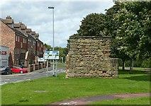 SJ9223 : East Gate, Stafford by Alan Murray-Rust