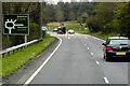 SJ3353 : Sliproad to Gresford Interchange by David Dixon