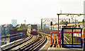 TQ3681 : Limehouse DLR station, 1997 by Ben Brooksbank