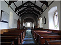 NU1019 : St Maurice, Eglingham - nave looking east by Stephen Craven
