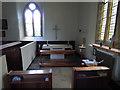 NU1019 : St Maurice, Eglingham - side chapel by Stephen Craven