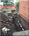 SP2965 : Works to cables near Pickard Street, Warwick by Robin Stott
