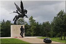 SK1814 : Monument to the Parachute Regiment by Derek Bennett
