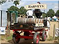 TQ8338 : Harveys delivery cart, Tractorfest by Oast House Archive