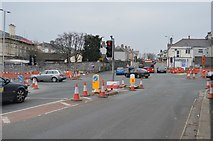 SX4757 : Weston Park Rd, A386 junction by N Chadwick