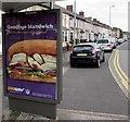 ST3089 : Goodbye blandwich, Crindau, Newport by Jaggery