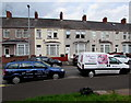 ST3089 : Two business vehicles, Malpas Road, Crindau, Newport by Jaggery