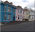 SX9980 : Colourful seafront houses, Exmouth by Jaggery