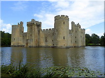 TQ7825 : Bodiam Castle, East Sussex by pam fray