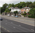 ST3089 : Houses above Malpas Road, Newport by Jaggery