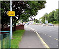 ST3089 : Left here for Albion Rovers, Newport by Jaggery