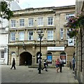 SJ9223 : Stafford Railway Building Society, Market Square, Stafford by Alan Murray-Rust