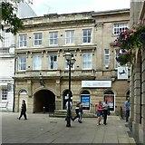 SJ9223 : Stafford Railway Building Society, Market Square, Stafford by Alan Murray-Rust