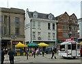 SJ9223 : 18 Market Square, Stafford by Alan Murray-Rust