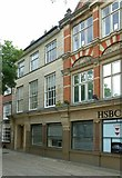 SJ9223 : HSBC bank, Market Square, Stafford by Alan Murray-Rust